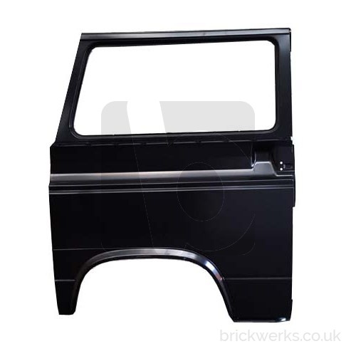 Repair Panel - T3 / Right / Outer Rear / RHD / Window