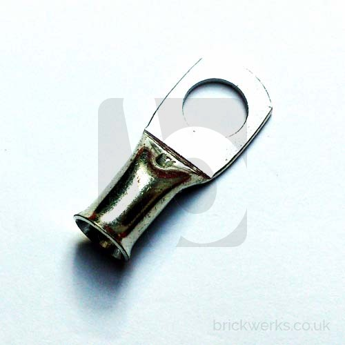 Tube Terminal - 10mm² Cable / 8mm Hole
