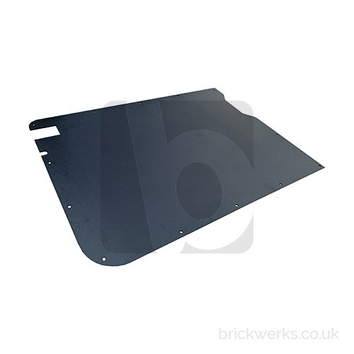 Sliding Door Card - T3 / ABS / Late / Right / Black