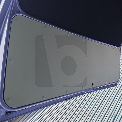 Tailgate Panel - T3 / ABS / Grey