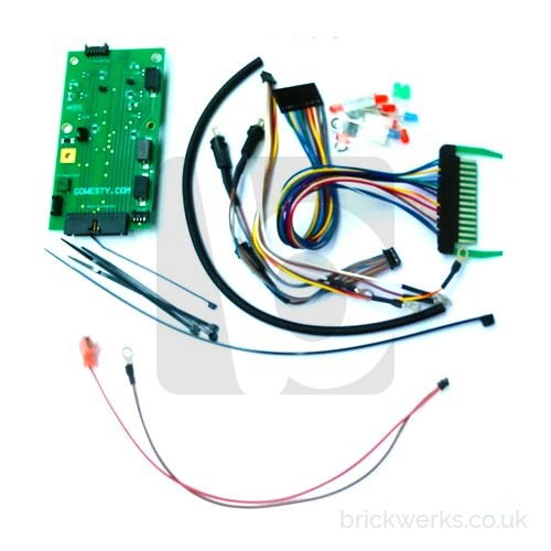 Dashboard PCB Replacement Kit - T3 with Analogue Clock