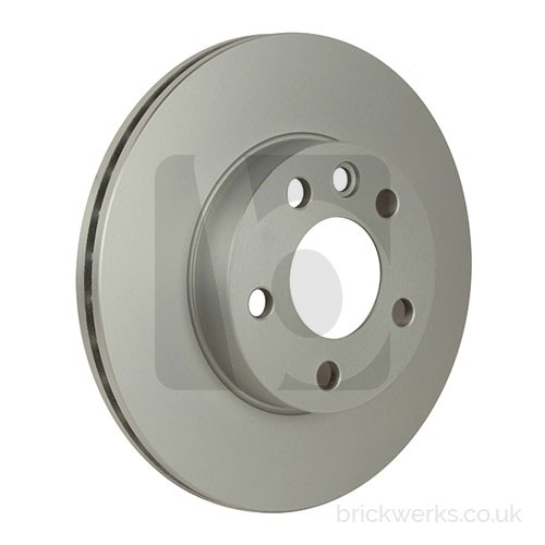 """Brake Disc - T4 / Front / '96> / 15"""" / Vented"""
