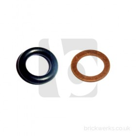 Dipstick Tube Oil Seal and Washer - T3