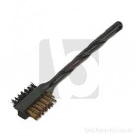 Parts Cleaning Brush - Brass/Nylon