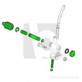 Gear Lever Rebuild Kit - T3 5 Speed