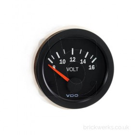VDO Gauge - 52mm / Voltmeter / 8-16v